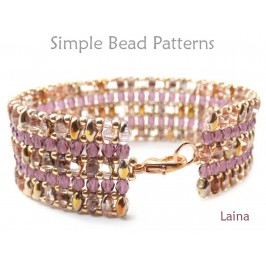 SuperDuo Bracelet Tutorial Beaded Bracelet Pattern