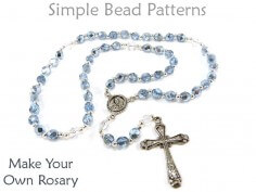 How to Make a Catholic Rosary with Beads by Simple Bead Patterns