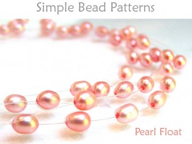 Floating Pearl Necklace and Floating Pearl Bracelet DIY Tutorial