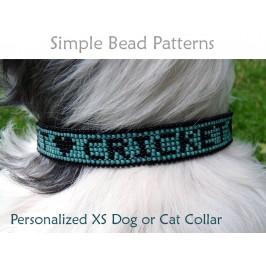 DIY Dog Collar Beaded Leather Beading Pattern