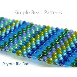 Learn How to Make a Peyote Stitch Bracelet with Seed Beads Tutorial