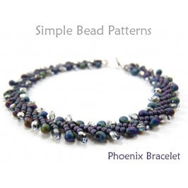 St Petersburg Stitch Bracelet Beading Pattern DIY Tutorial