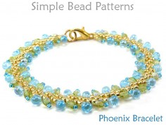 St Petersburg Stitch Bracelet Beading Pattern DIY Tutorial