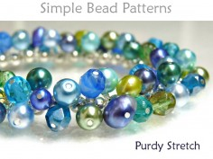Stretch Wire Wrap Bracelet Tutorial Beading Pattern