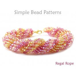 Dutch Spiral Beading Instructions DIY Bracelet Necklace Tutorial