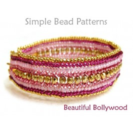 Herringbone Stitch Beaded Bracelet Jewelry Making Beading Pattern
