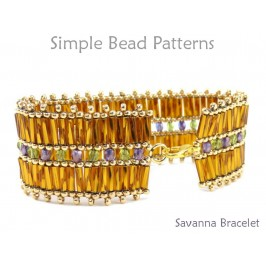Bugle Bead Bracelet Pattern DIY Jewelry Making Tutorial