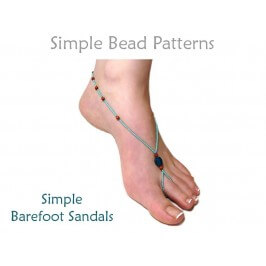 How to Make Barefoot Sandals DIY Beading Pattern