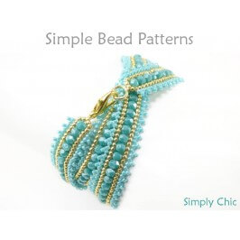 Beaded Wrap Bracelet DIY Herringbone Stitch Beading Tutorial