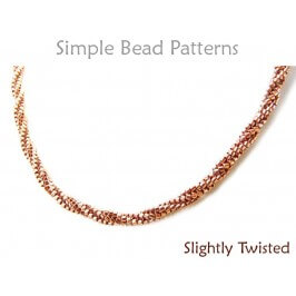 Tubular Herringbone Stitch Instructions DIY Beading Pattern