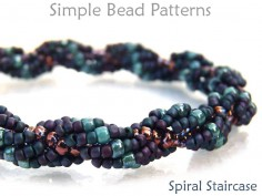 Spiral Rope Seed Bead Pattern Spiral Stitch Tutorial