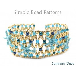 Beaded Netting Instructions for a DIY Bracelet with Seed Beads
