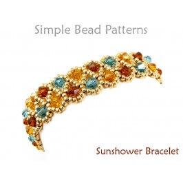 Swarovski Crystal Bracelet Pattern DIY Bracelet Beading Tutorial