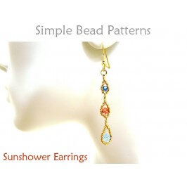DIY Earrings with Swarovski Crystals Jewelry Making Beading Tutorial