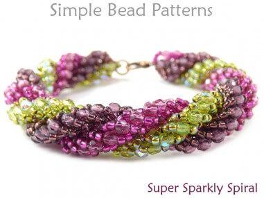 Triple Spiral Beading Instructions to Make a DIY Bracelet & Necklace
