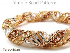 Russian Spiral Stitch DIY Bracelet & Necklace Tubular Beading Pattern