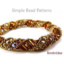 Russian Spiral Stitch DIY Bracelet & Necklace Tubular Beading Pattern