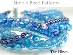 Beaded Braided Bracelet DIY Jewelry Making Beading Pattern