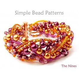 Beaded Braided Bracelet DIY Jewelry Making Beading Pattern