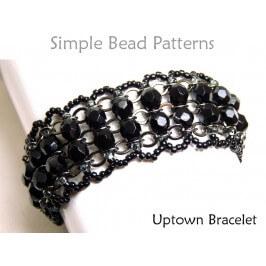Pearl Bracelet DIY Beading Pattern Beaded Chain Bracelet Tutorial