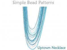 DIY Multi Strand Necklace Tutorial Long Necklace Pattern