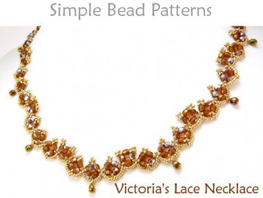 DIY Beaded Necklace Jewelry Making Tutorial by Simple Bead Patterns