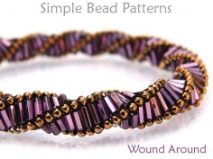 Bugle Bead Pattern DIY Beaded Bracelet & DIY Beaded Necklace Tutorial