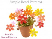 Learn How to Make Beaded Flowers with this Easy Wire Working Tutorial