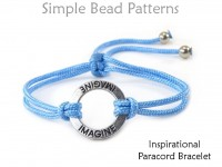 Instructions for Inspirational Paracord Bracelet with a Slide Knot