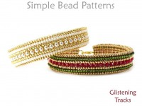 Herringbone Stitch Beading Tutorial Braided Bracelet with Beads