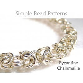 Byzantine Chainmaille Bracelet Necklace Jewelry Making Tutorial