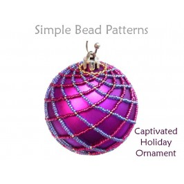 Netted Stitch Christmas Tree Ornament Pattern