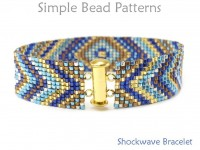 Jewelry Making Beaded Bracelet Square Stitch Tutorial with Seed Beads