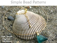 Easy Sea Glass Necklace Beach Glass Jewelry Making Beading Tutorial