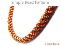 Russian Spiral Tutorial for How to Make a Beaded Bracelet & Necklace
