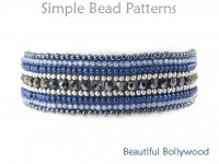 Herringbone Stitch Beaded Bracelet Jewelry Making Beading Pattern