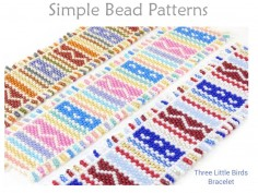 Beginner Odd Count Peyote Stitch Bracelet with Beaded Fringe Tutorial