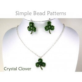 St. Patrick's Day Clover DIY Earrings Necklace Jewelry Making Tutorial