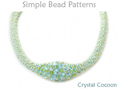 Russian Spiral Stitch DIY Beaded Necklace Jewelry Making Tutorial