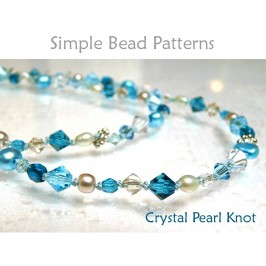 DIY Pearl Knotting Beaded Bracelet Necklace Beading Tutorial