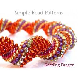 Dutch Spiral Stitch DIY Bracelet Necklace Jewelry Making Tutorial