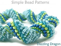 Dutch Spiral Stitch DIY Bracelet Necklace Jewelry Making Tutorial