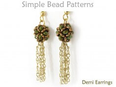 Learn How to Make Beaded Tassel Earrings with this Beading Tutorial