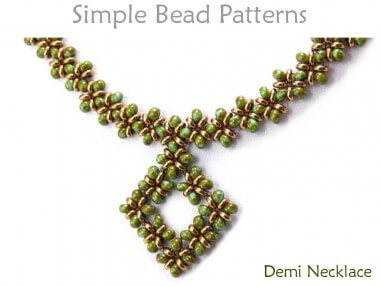 Learn How to Make a Beaded Necklace with this DIY Beading Pattern
