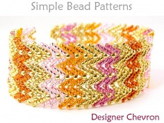 St. Petersburg Stitch DIY Beaded Bracelet Jewelry Making Tutorial