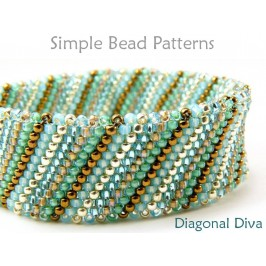 DIY Beaded Bracelet Peyote Stitch Jewelry Making Beading Tutorial