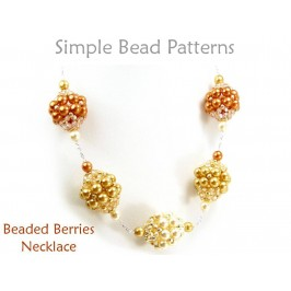 DIY Beaded Necklace with Beaded Beads Jewelry Making Beading Pattern