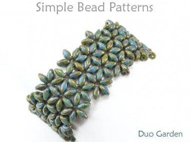 SuperDuo Bracelet Tutorial DIY Jewelry Making by Simple Bead Patterns