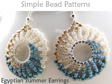 How to Make Earrings with Seed Beads Earring Jewelry Making Tutorial