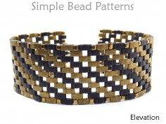 Half Tila Bracelet Pattern DIY Jewelry Making Beading Tutorial